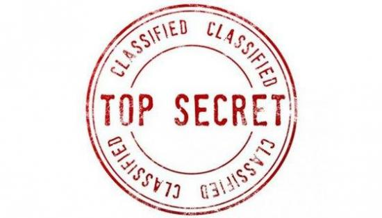 Image d'un logo top secret