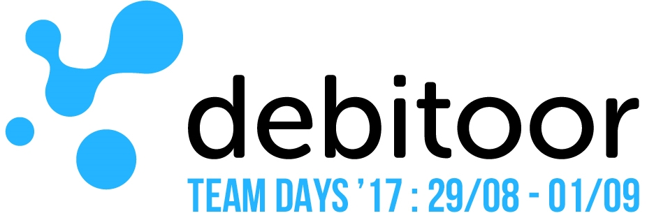 Logo des Team Days de Debitoor 2017